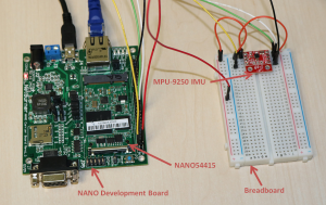 Interfacing the MPU9250 IMU for Absolute Orientation Data - NetBurner