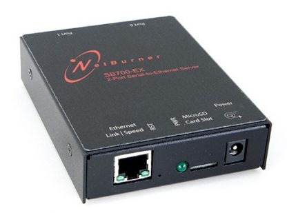 2 Port Serial to Ethernet Server with Virtual COM Port
