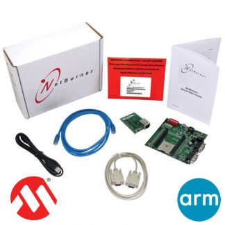 Netburner ARM Cortex M7 embedded Development Kit for IoT product development and industrial automation.