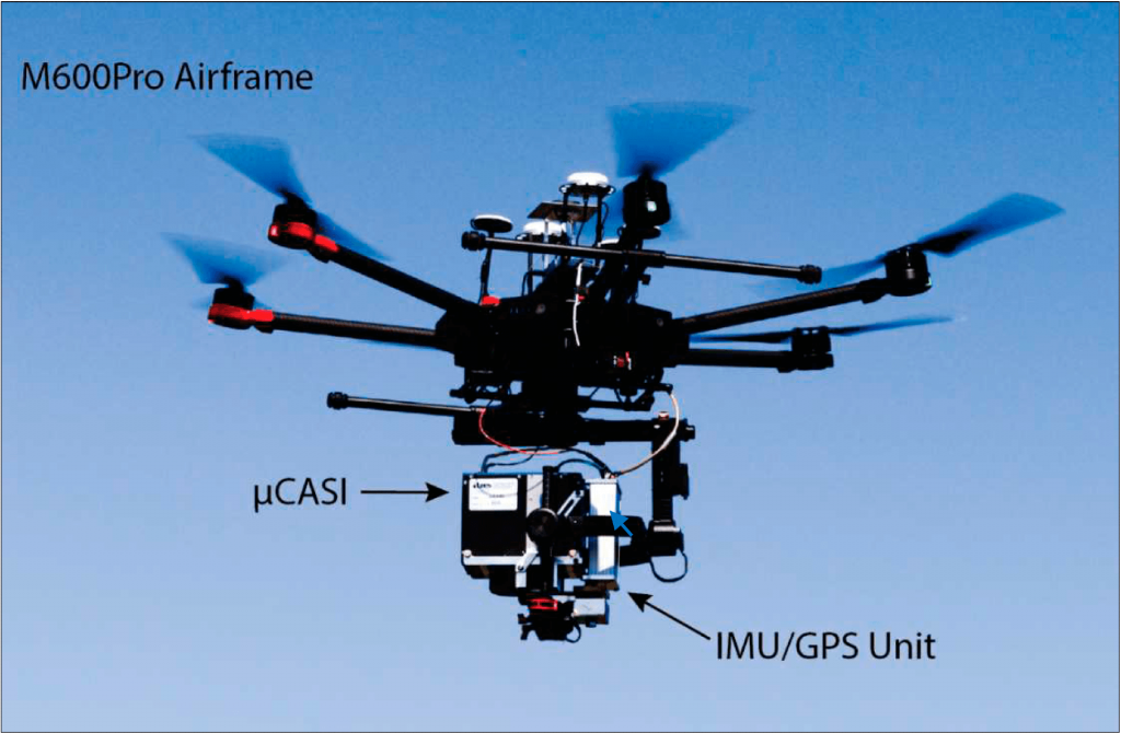 NetBurner McGill UAV Hyperspectral Imaging