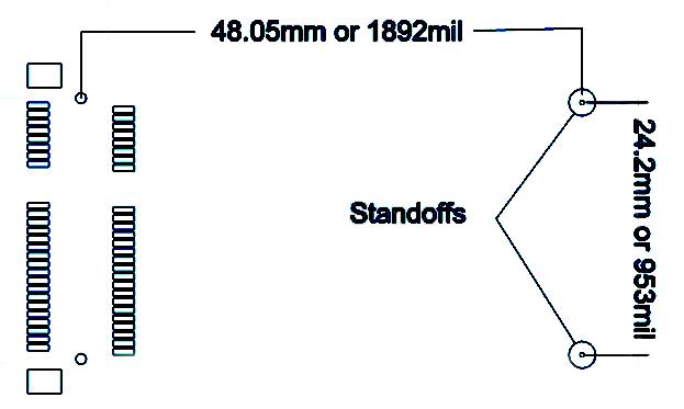 NANO54415 Mechanical Drawing