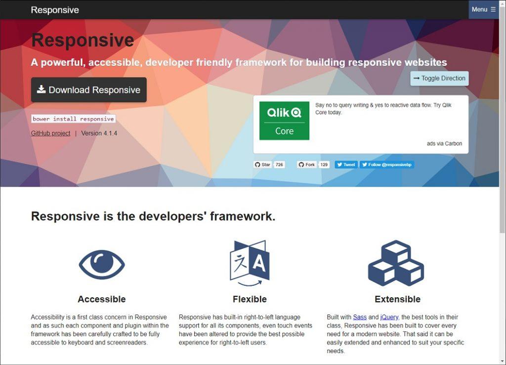 ResponsiveBP Homepage