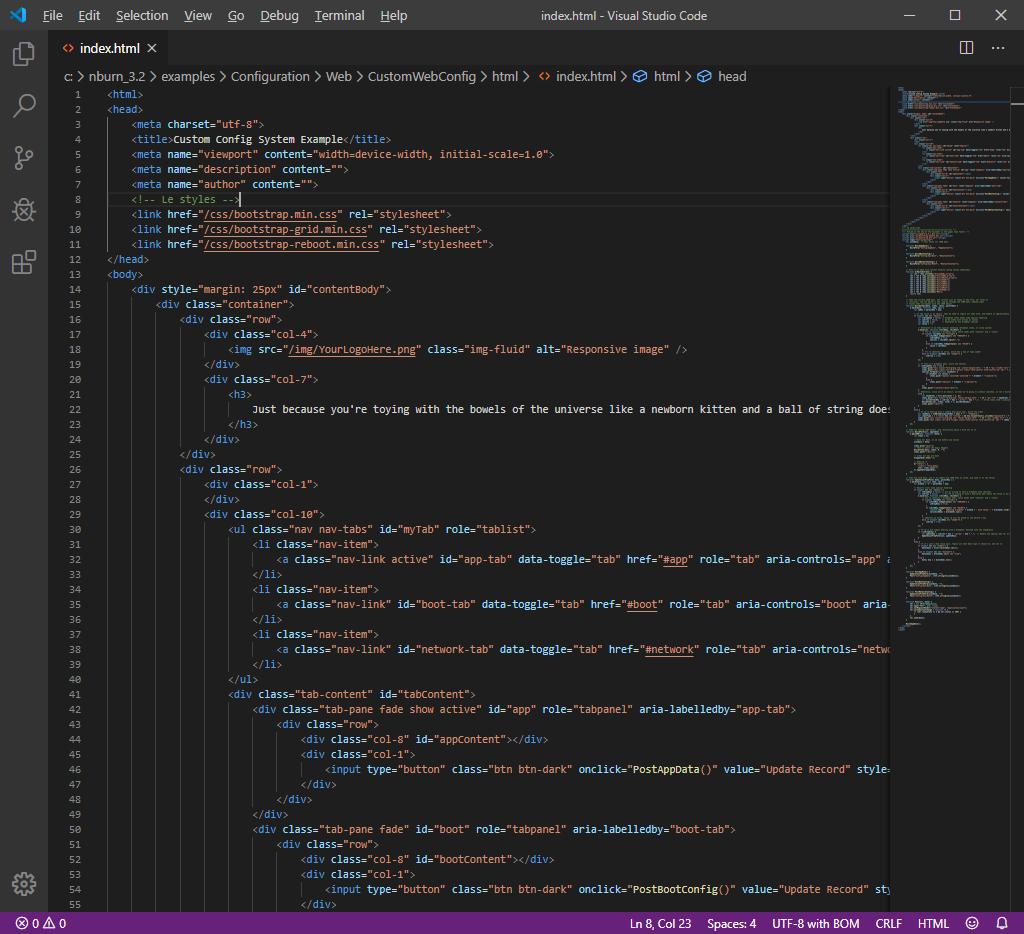Visual Studio Code Application