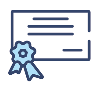 Vector art for general certificate